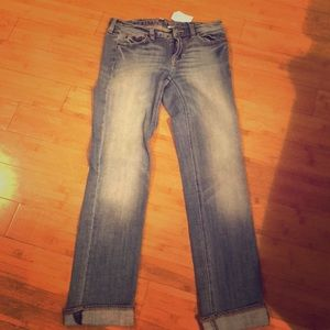 Jcrew Girlfriend Jean. Brand New with tags. 25S